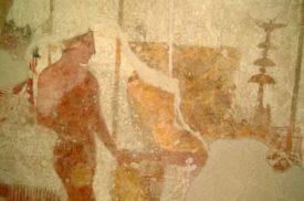 Dipinti etruschi - Etruscan paintings