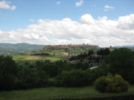 Orvieto dal Belvedere - Orvieto from the Belvedere